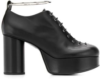 Jil Sander Lace-Up Platform Shoes