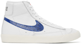 Nike White Blazer Mid 77 Vintage High-Top Sneakers