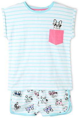 Tilii Puppy Print Pyjama Set