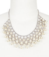 Carolee Grand Entrance Rhinestone & Faux-Pearl Statement Necklace