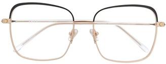 S'nob Marchesa square-frame glasses