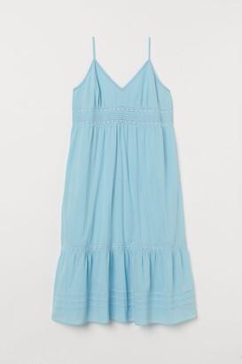 H&M H&M+ Long Dress with Lace