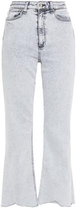 Rag & Bone Nina Acid-wash High-rise Kick-flare Jeans