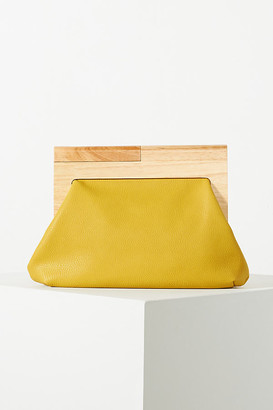 Anthropologie Harlow Clutch By in Yellow