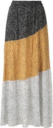 Olympiah Jarosse printed maxi skirt