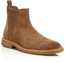 John Varvatos Men's Leroy Suede Chelsea Boots