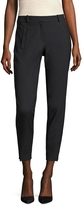 Maje Women's Zip Cuff Cropped Trouser