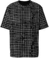 Haider Ackermann checked T-shirt