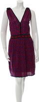 M Missoni Patterned Knee-Length Dress w/ Tags