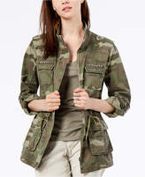 INC International Concepts I.N.C. Camouflage-Print Utility Jacket, Created for Macy's