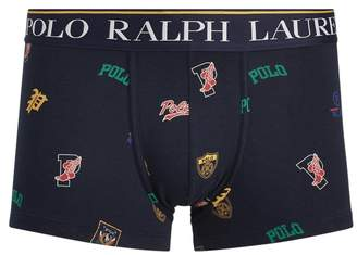 Ralph Lauren Logo Stretch Cotton Trunk