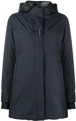 Fay Toggle Fastening Raincoat