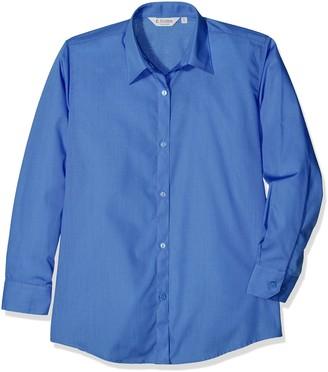 Trutex Girl's 2pk E/C L/S Contemp Shirt