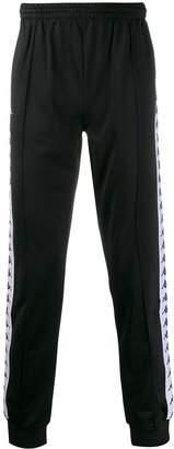 Kappa logo lined track pants