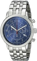 88 Rue du Rhone Men's 87WA120051 Stainless Steel Bracelet Watch with Blue Dial
