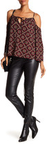 Laundry by Shelli Segal Faux Leather Skinny Moto Pants