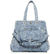 Jerome Dreyfuss Medium Billy Suede Tote