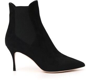 Sergio Rossi Pointed Toe Ankle Boots