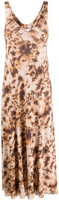 Nanushka Corinne tie-dye print dress