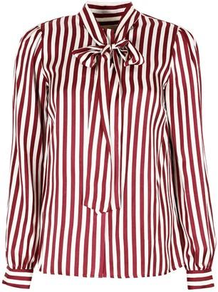 MICHAEL Michael Kors Striped Silk Shirt