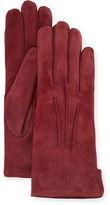 Mario Portolano Cashmere-Lined Suede Gloves
