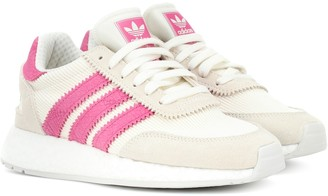 adidas I-5923 suede-trimmed sneakers
