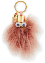 Sophie Hulme Ethel Feather Key Ring, Taupe