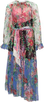 Zimmermann Long Floral Dress