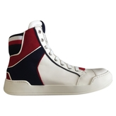 Balmain Hightop Basketball Shoes
