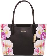 Calvin Klein H7AB41NB B8KF Key Item Floral Print Tote