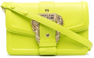 Versace Jeans Couture Barocco-buckle cross-body bag