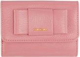 Miu Miu Pink Compact Bow Wallet