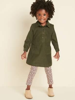 Old Navy Corduroy Shirt Dress for Toddler Girls