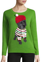 Context Puppy Christmas Sweater
