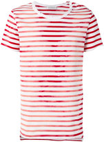 Faith Connexion striped T-shirt - men - Cotton - XS