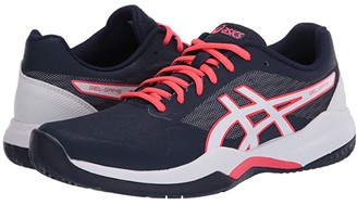 Asics Gel-Game 7 (White/Silver) Women's Tennis Shoes