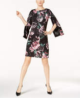 Jax Floral-Print and Lace A-Line Dress