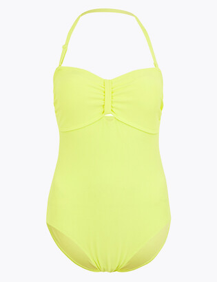 Marks and Spencer Padded Bandeau Swimsuit