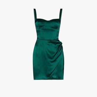 Reformation Fonda silk mini dress