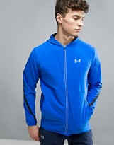 Under Armour Running True Sw Jacket In Blue 1289388-789