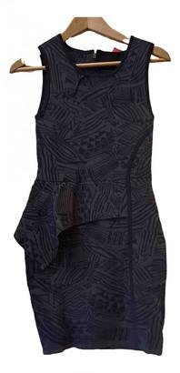 Yigal Azrouel Navy Cotton - elasthane Dress for Women