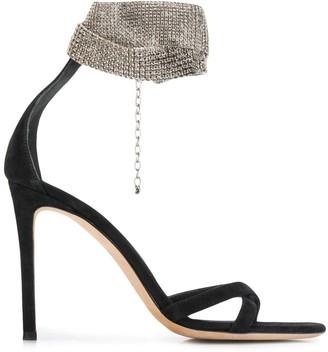 Giuseppe Zanotti Embellished Ankle-Strap Sandals