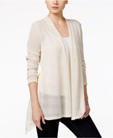 Style&Co. Style & Co. Petite Open-Front Lace-Detail Cardigan, Only at Macy's