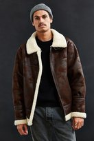 Urban Outfitters Faux Shearling B-3 Bomber Jacket