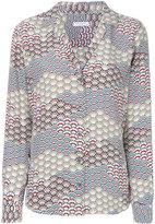 Equipment abstract pattern shirt