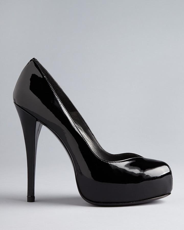 Stuart Weitzman Peep Toe Pumps - Victoria High Heel