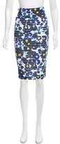 Fuzzi Floral Knit Pencil Skirt w/ Tags