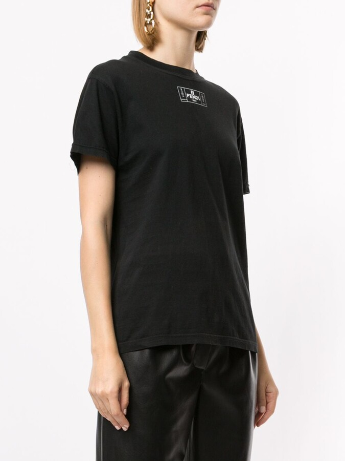 Thumbnail for your product : Fendi Pre-Owned logo shortsleeved T-shirt