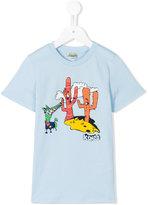 Kenzo cartoon logo T-shirt - kids - Cotton - 2 yrs