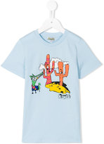 Kenzo cartoon logo T-shirt - kids - Cotton - 4 yrs